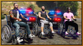 GTA 5 Roleplay - WHEELCHAIR CREW TROLLS COPS | RedlineRP