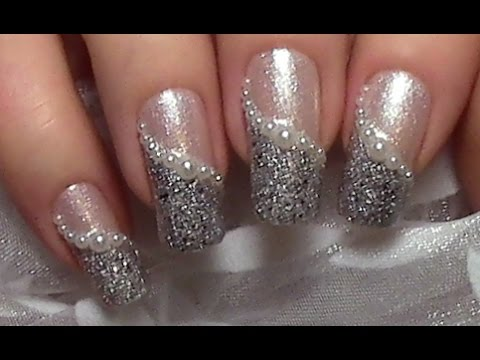 Easy elegant pearl nail art design tutorial for beginners easy elegant pearl nail art design tutorial for beginners wedding nails nail polish youtube prinsesfo Image collections
