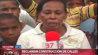 Reclaman construcción de calles en el Tamarindo en Bahoruco