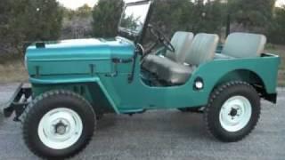 Horse Face Films presents 1965 CJ-3B Restoration