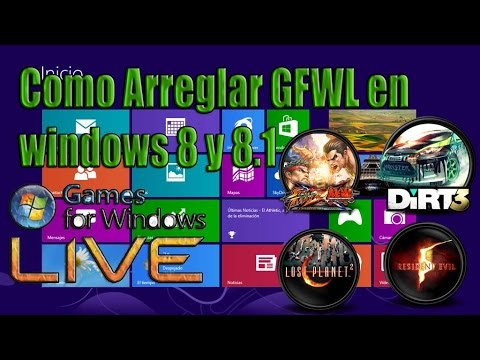 Como Solucionar Problema Con Games for windows Live En windows 8 2014 [Español]