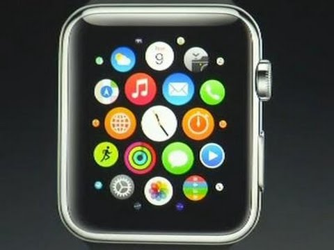 apple launches smartwatch updates iphone line youtube. Black Bedroom Furniture Sets. Home Design Ideas