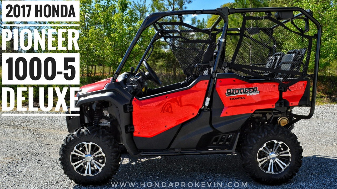Honda Pioneer 1000 Review >> 2017 Honda Pioneer 1000 5 Deluxe Review Of Specs Walk Around Red