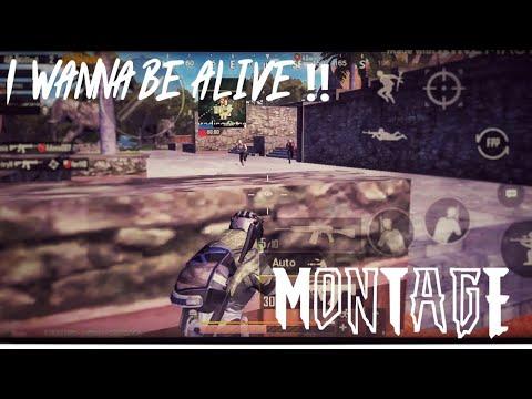 I wanna be alive !! |PUBGmobile Montage| season 11