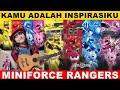 Download lagu Dj Kamu Adalah Inspirasiku    Versi MINIFORCE RANGER 😍😎