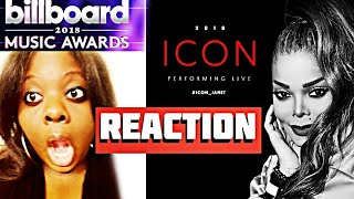 JANET JACKSON- LIVE AT BBMA 2018  (REACTION)