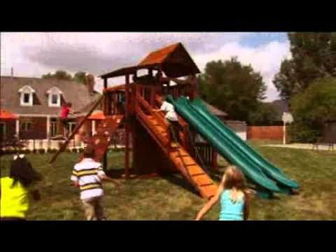 Swing Sets And Playsets By Backyard Adventures In Tennessee