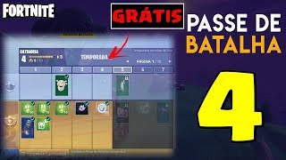 HOW TO WIN THE BATTLE PASS 4 SEASON AT THE FORTNITE BATTLE ROYALE