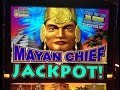**HUGE JACKPOT** 700 SPINS MAYAN CHIEF slot machine Max bet Bonus HANDPAY