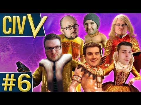 Civ V: Rando Wars #6 - Book Club