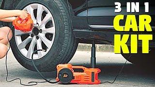 3 in 1 Electric Car Jack   Multi Function Car Gadget