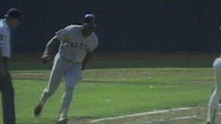 1986 ALCS Gm5: Henderson