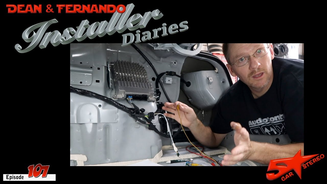 Chevy Cruze part 1 integrating into the factory amplifier Installer on