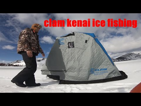 Ice Fishing Mantau Reservoir: Multi Species Fishing: Utah 2019 Ice Fishing