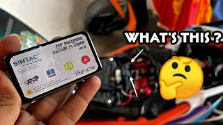This Device Will Save Your Life During Long Rides 🔥 -  Installing Simtac Hazard Flasher In Duke 250