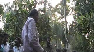 HEED Microfinance - demonstration of solar panel system on Bhola Island - Bangladesh