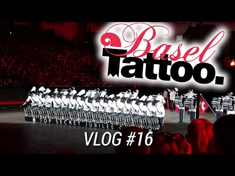 Basel Tattoo 2016 - vlog #16