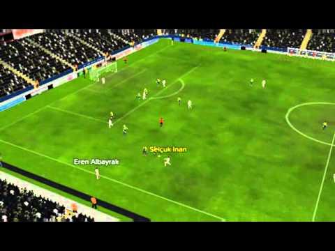 Fenerbah�e ile Galatasaray - Gol Eren Albayrak 63 dakika