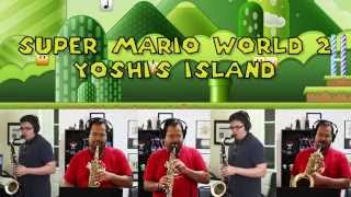 "Athletic Theme (From ""Super Mario World 2: Yoshi's Island"") Sax Jazz Quintet Game Cover"