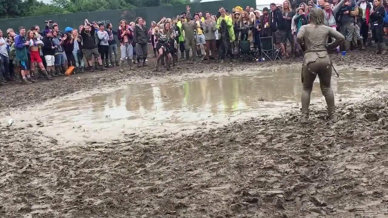 About glastonbury mud girl sorry
