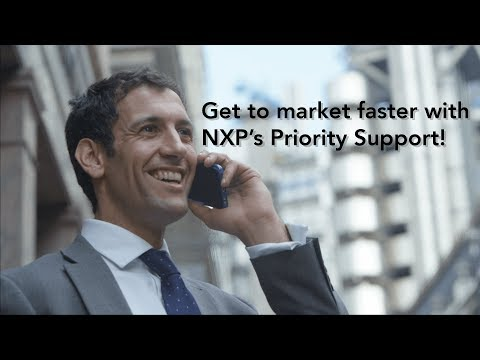 NXP Priority Support- helping you to get to market faster