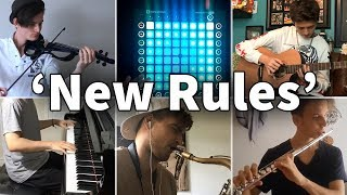 Who Played It Better: New Rules (Piano, Guitar, Launchpad, Violin, Flute, Saxophone)