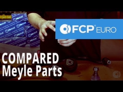 Meyle Parts Compared by FCP Euro (BMW E34 Control Arms & Bushings)