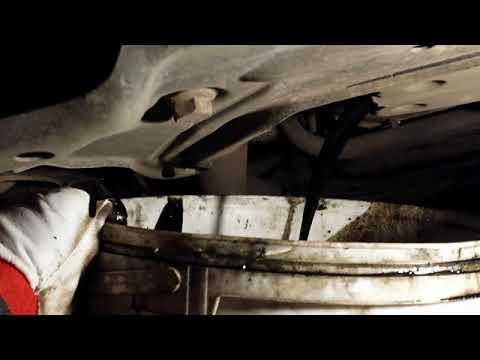 Мерседес w211 Как поменять моторное масло своими руками Замена масла в полевых условиях