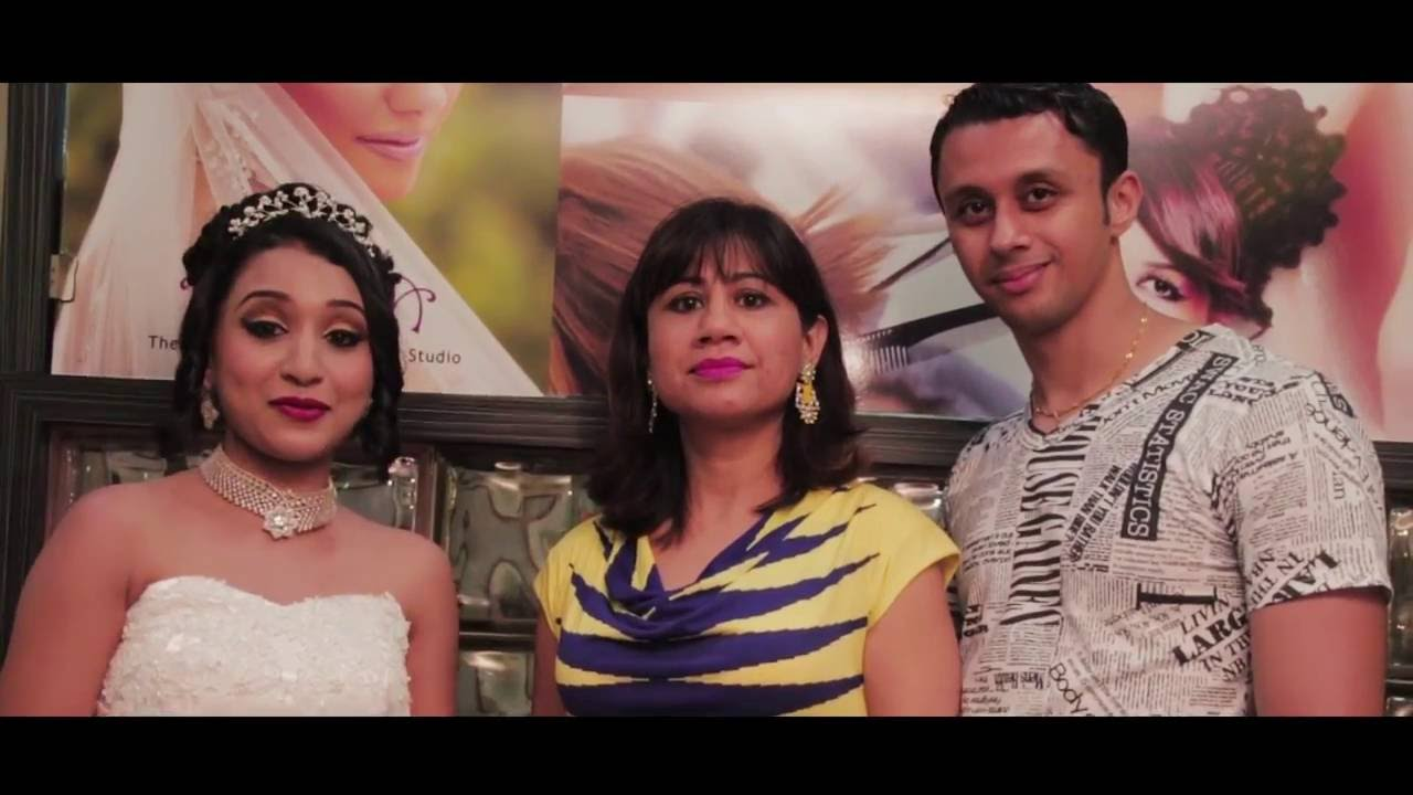 bridal makeup and hairstyle by goa makeup artist afsha - youtube