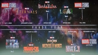 Marvel's MCU Phase 4 Revealed! Things You NEVER Saw Coming!  (SDCC 2019)