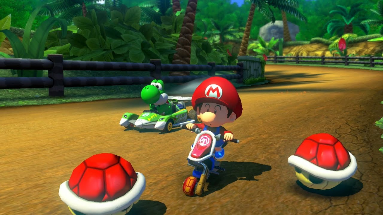 mario kart 8 grand prix shell cup youtube