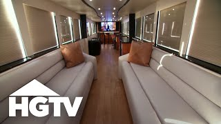 Video Simon Cowell's Motor Home - HGTV download MP3, 3GP, MP4, WEBM, AVI, FLV April 2018