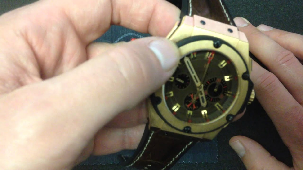5a88e883cf1 Hublot Big Bang King Power Arturo Fuente Luxury Watch Review - YouTube