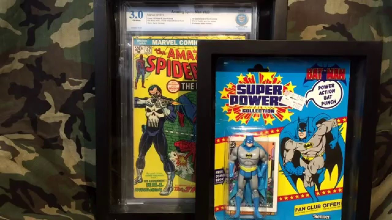 Framing CGC Comics, Framing Action Figures, CGC Storage Container ...