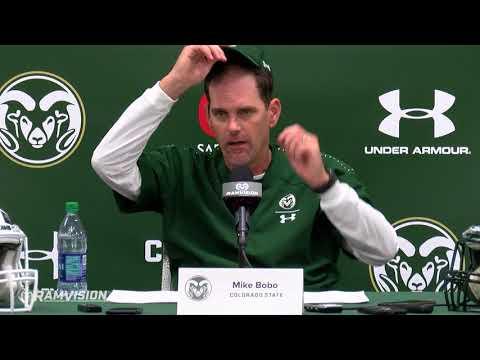 CSU Football vs. Arkansas: Mike Bobo press conference