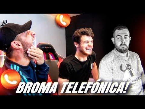 ECHAMOS A PAPI GAVI DE LA ÉLITE - BROMA TELEFÓNICA con Robert pg
