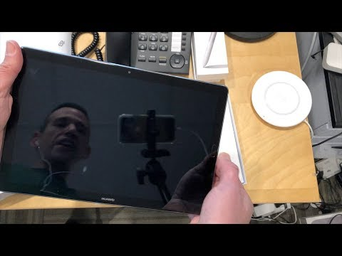 Huawei MediaPad M5 Android Tablet 10.8 Unboxing