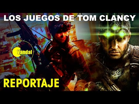 Los juegos de TOM CLANCY: Del primer Rainbow Six a Splinter Cell, Ghost Recon, The Division y Siege