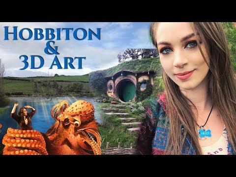 Adventure to NewZealand. Day 4 -Hobbiton & 3D art gallery