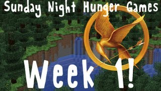 Minecraft: Sunday Night Hunger Games Week 1