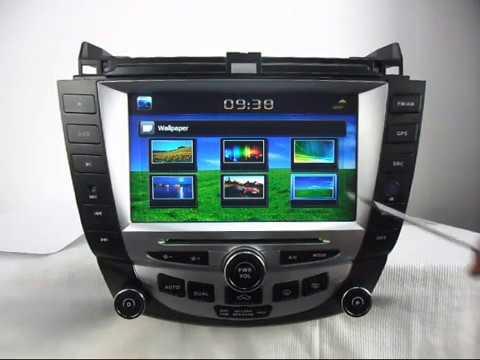 Honda Accord Dvd Player Gps Navigation Tv Bluetooth