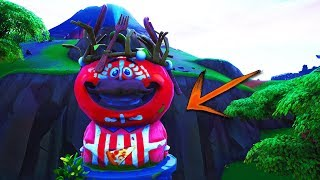 Get INSIDE The TOMATO HEAD With This EASY GLITCH in FORTNITE! (Fortnite Glitch)