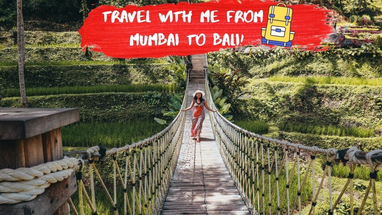 TRAVEL WITH ME TO BALI|CHEAPEST WAY TO TRAVEL TO BALI |MUMBAI TO BALI