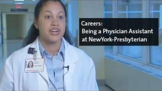 Being a Physician Assistant at NewYork-Presbyterian