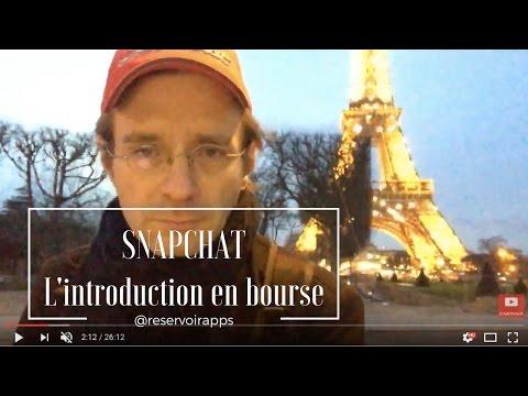 Snapchat: l'introduction en bourse !! LIVE🔴 7/7 ACTU SOCIALMEDIA & TECH @ReservoirApps