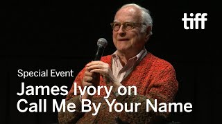 James Ivory on CALL ME BY YOUR NAME | TIFF 2018