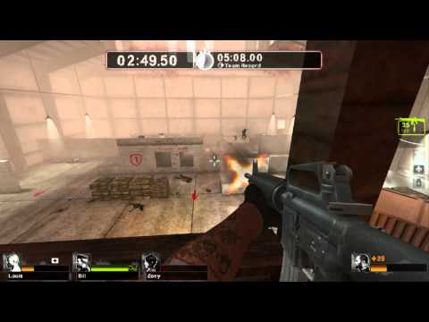 Left 4 Dead 2: Survival - Killhouse - HD