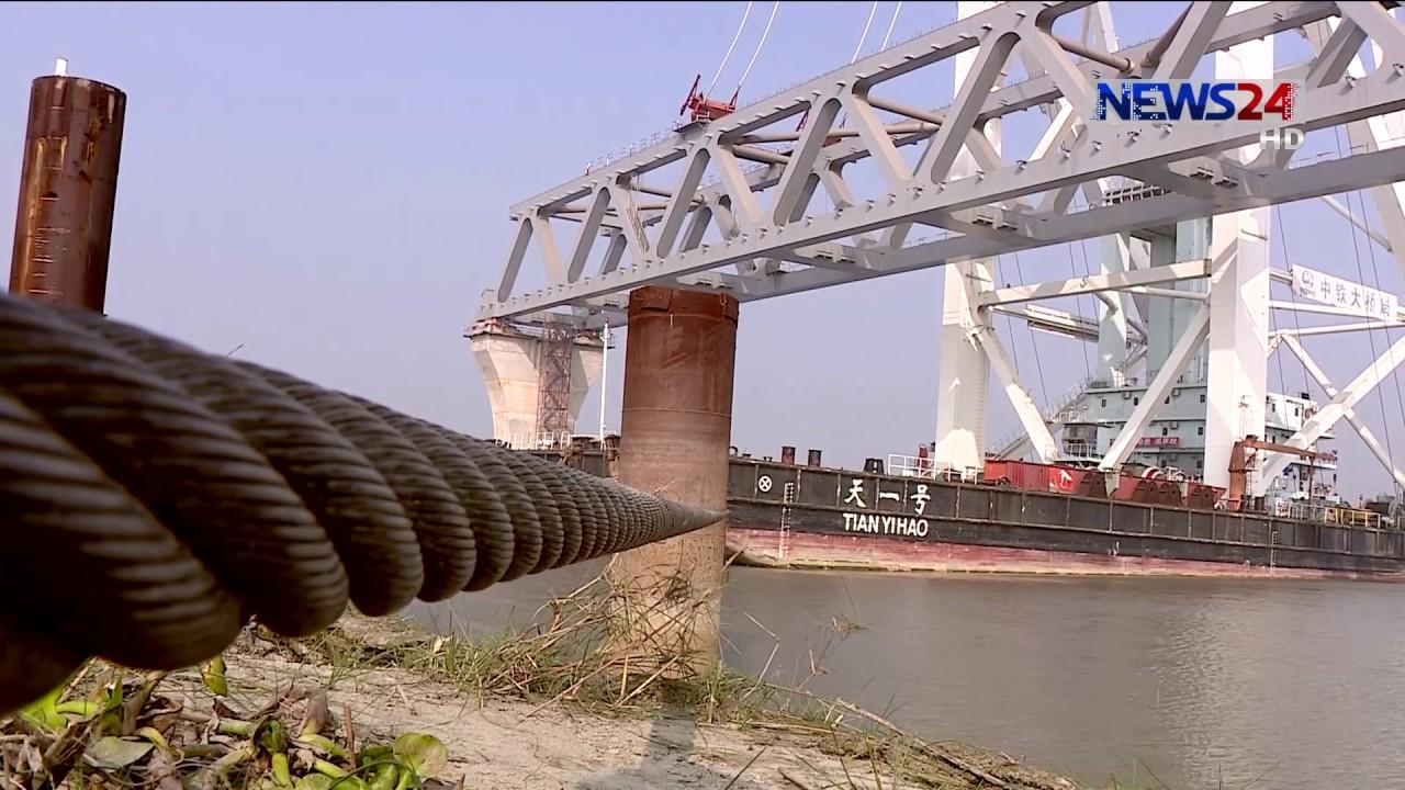 ৬মাসের মধ্যেই শেষ হচ্ছে পদ্মা সেতুর মূল অবকাঠামোর স্প্যানের কাজ   Padma Bridge Update-01   22Dec.19