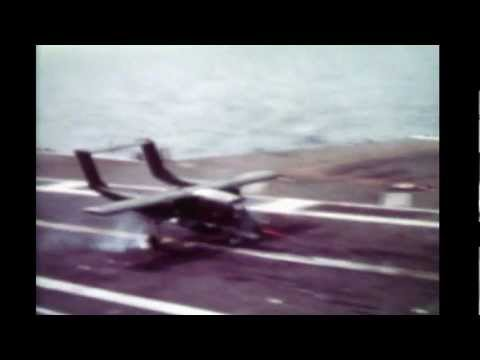 North American OV-10A BRONCO Carrier Tests 1968