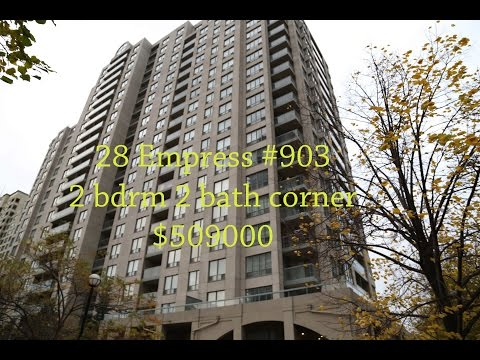 2 bedroom corner unit North York Empress Walk $509000